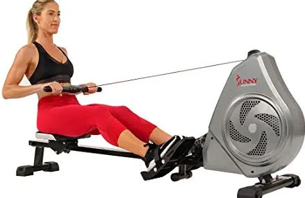 Top Sunny Health rowing machine