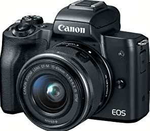 Canon EOS M50 Mirrorless Vlogging Camera Kit