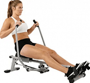 Sunny Health & Fitness SF-RW5639 Full Motion Rowing Machine Rower