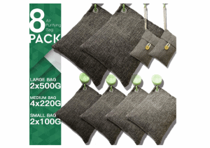 DTXDTech Bamboo Charcoal Air Purifying Bags